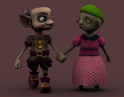 Moe and Ashleigh // 3D game - 2013