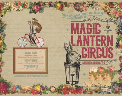 Magic Lantern Circus programme