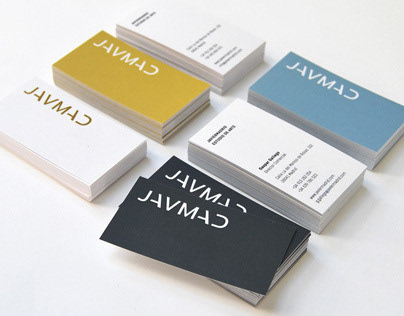 Logotype and corporate identity JAVMAD
