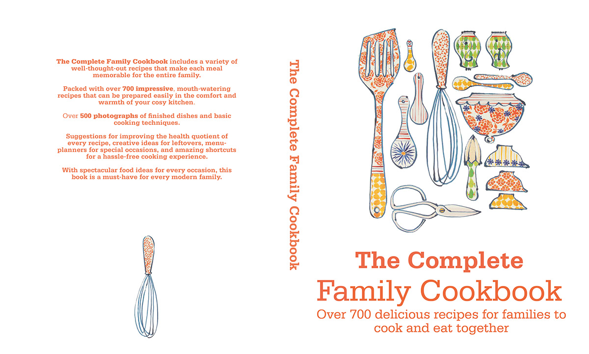 Family Cook Book- New Book Idea