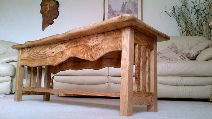 (Bespoke Hardwood) Wainy Edge Series of Furniture