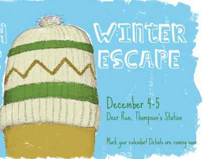 Winter Escape Postcard