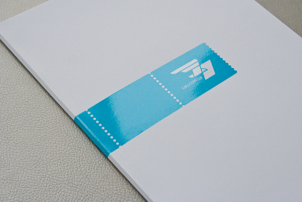 Courier Airmail of Ukraine / CAU / Corporate identity