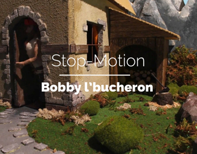 Bobby lBucheron (stop-motion)