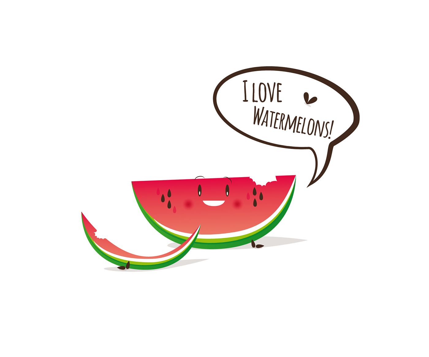 I love Watermelons