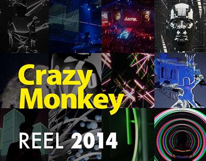 CrazyMonkeyBOX Reel 2014