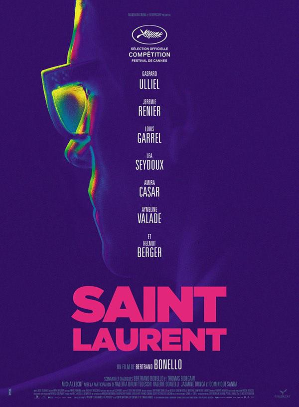 SAINT LAURENT - Cannes - Official Poster