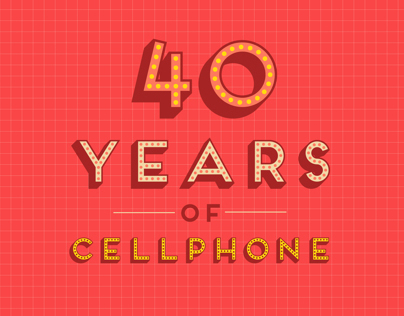 40 Years of Cellphone - Animation