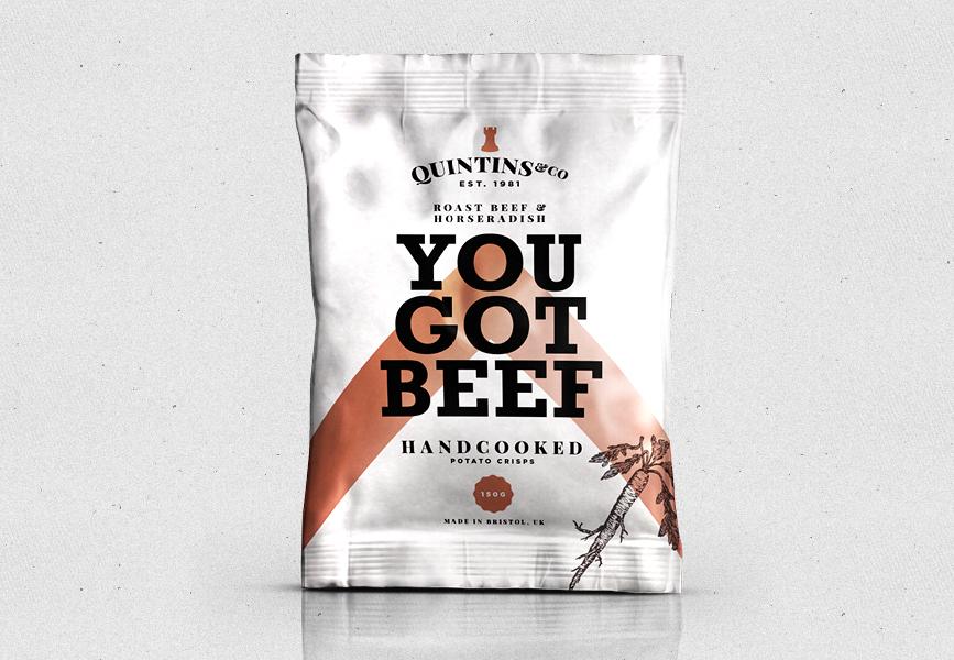 QUINTIN&CO Crisps // Branding