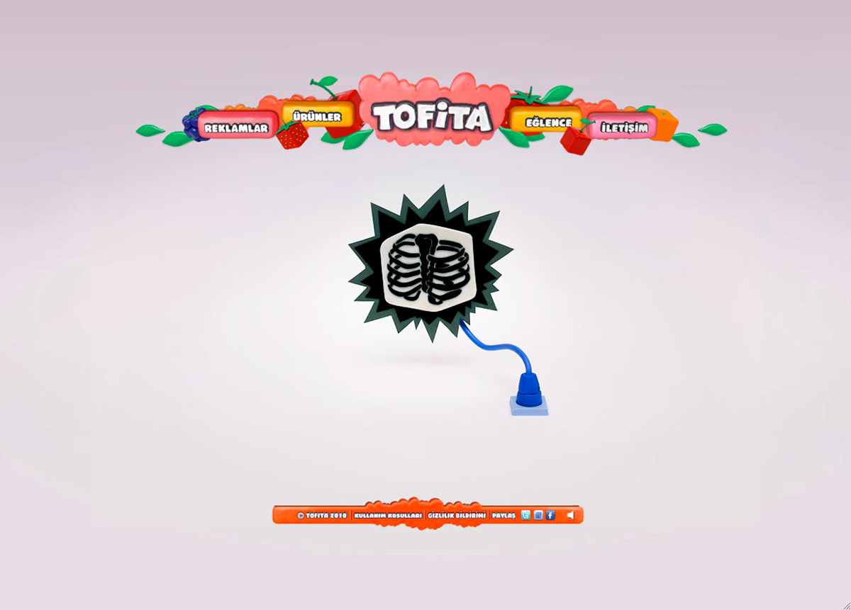 Kraft Foods // Tofita Claymation Site