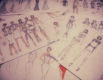 Fashion Sketches 2012