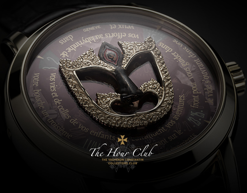 The Hour Club - Minisite for Vacheron Constantin