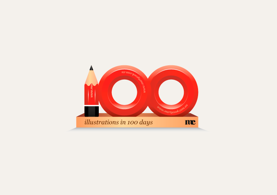 100 illustrations in 100 days