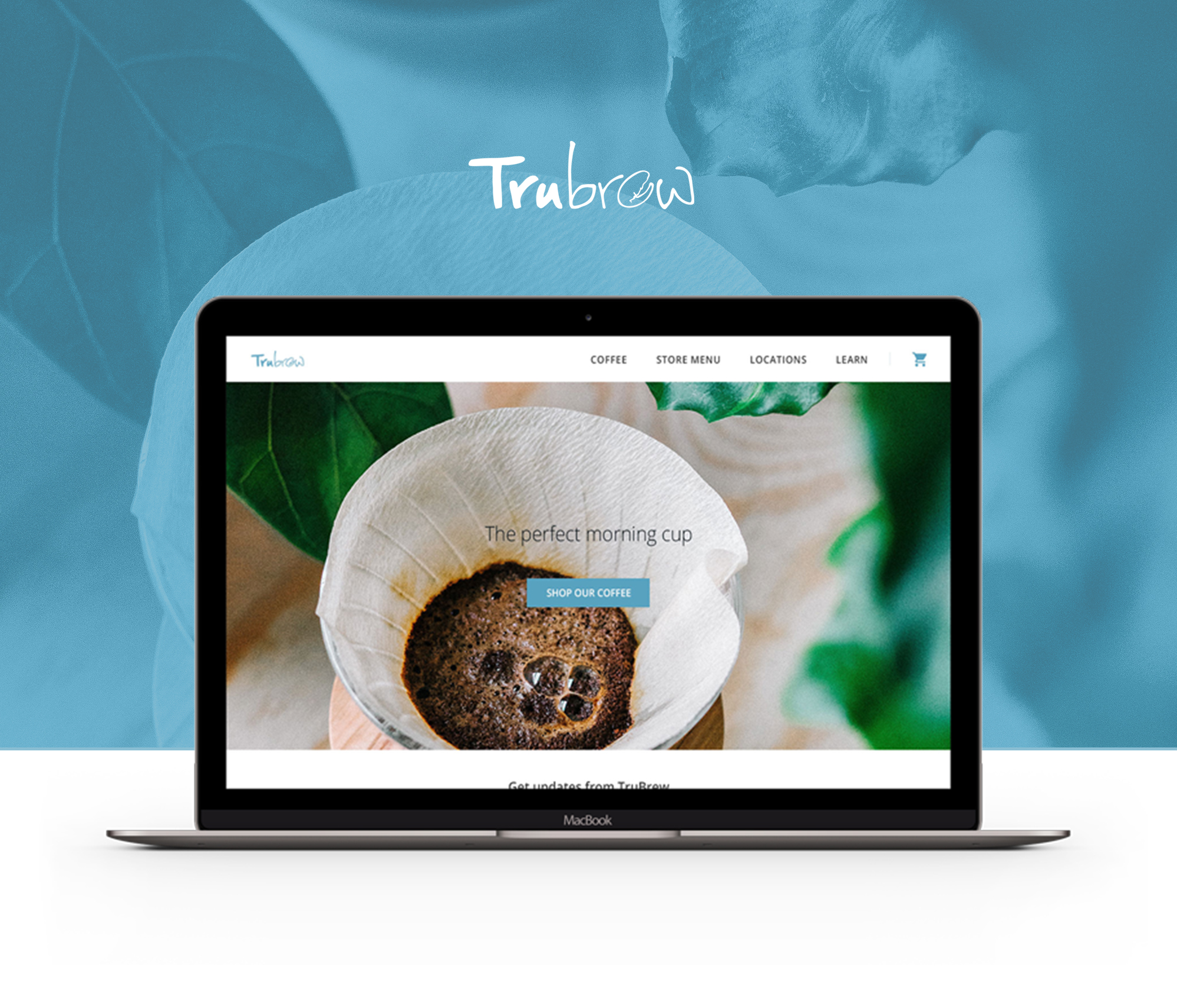 Trubrew Cafe website