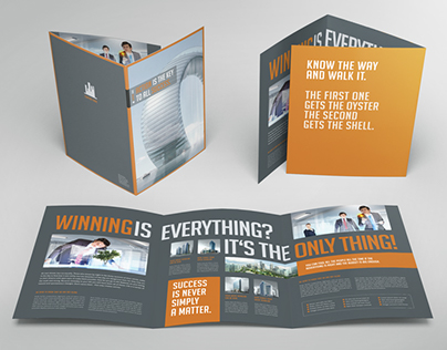 Business Image Trifold Brochure