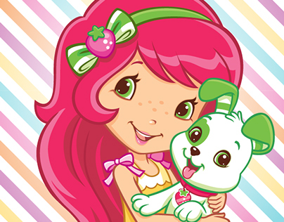 Strawberry Shortcake Pets Style Guide