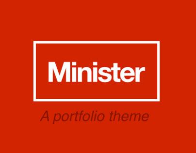 Minister - A portfolio theme