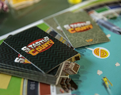 Startup County - Board Game