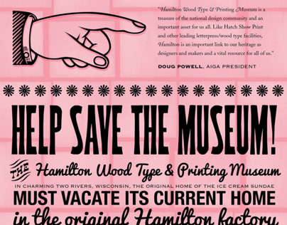 Save Hamilton! poster series