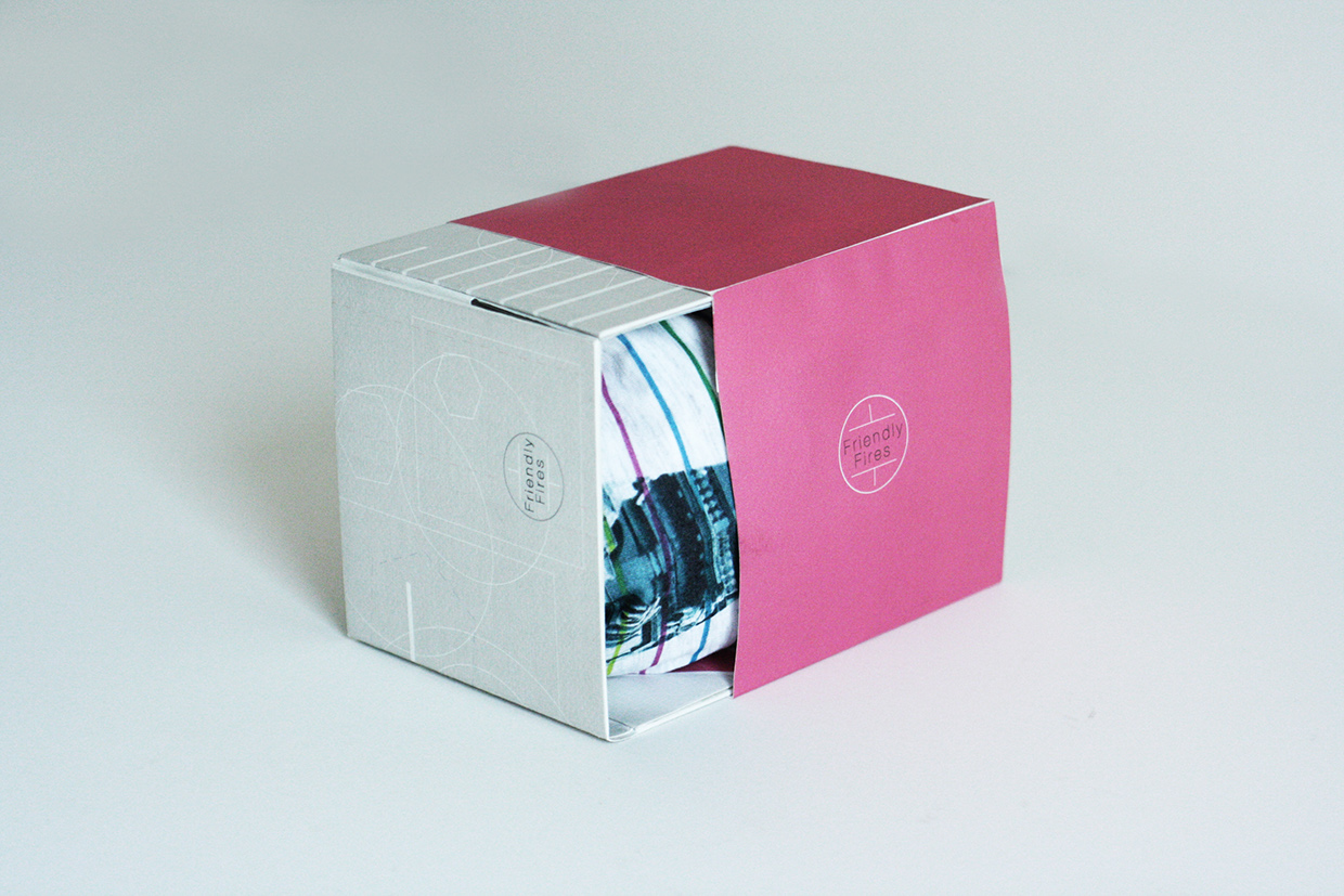 Friendly Fires CD Package