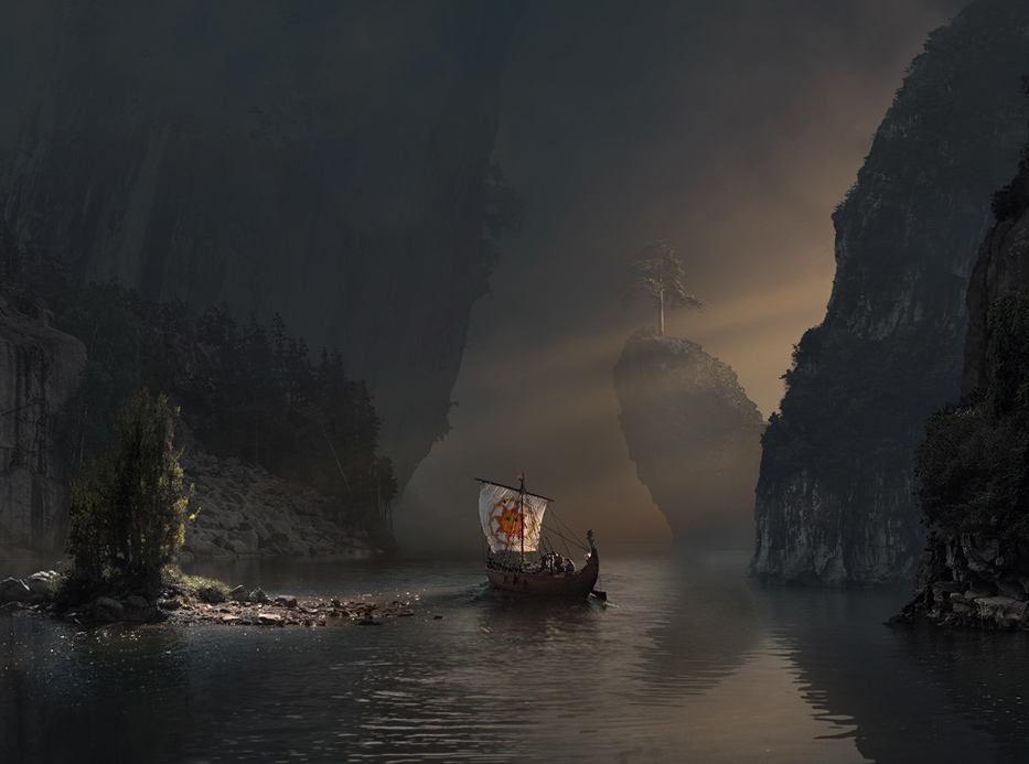 Different Matte Paintings