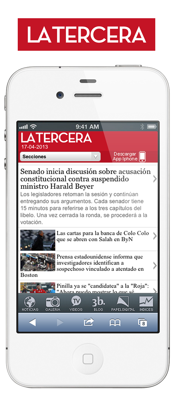 Latercera - Iphone