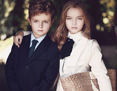 Internet shop luxury clothing for children