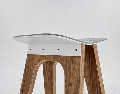 C5 bar stool