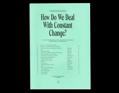 How Do We Deal With Constant Change? FOCA zine