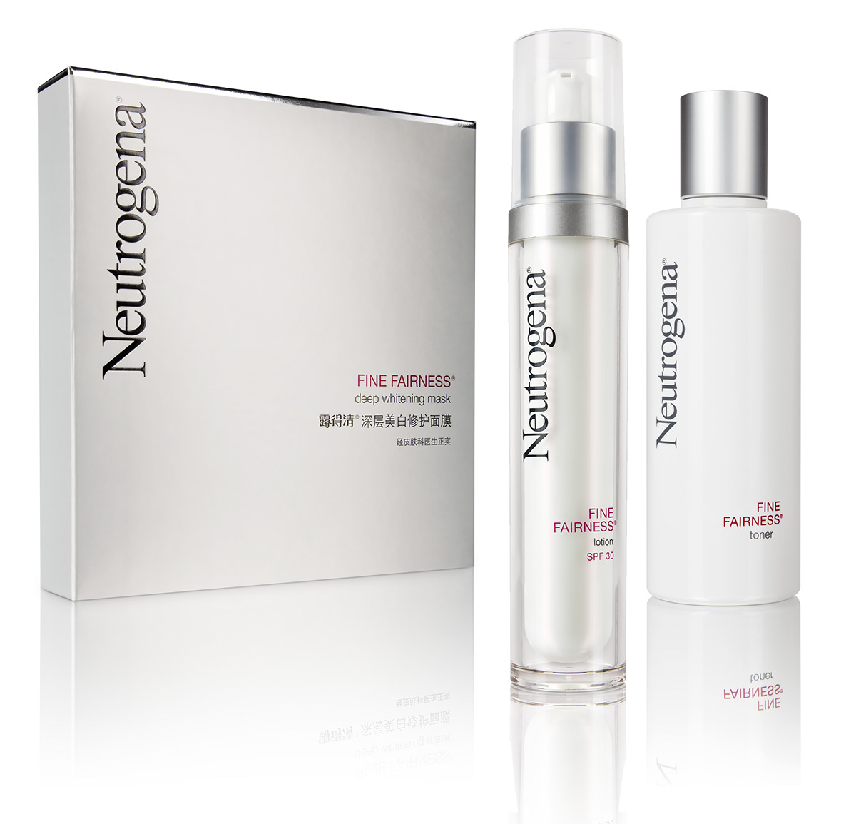 Neutrogena Fine Fairness Packaging