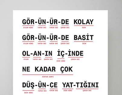 Bir Neo-Modernist Manifesto Poster