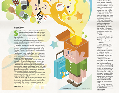 Editorial Design and Illustrations for TPL