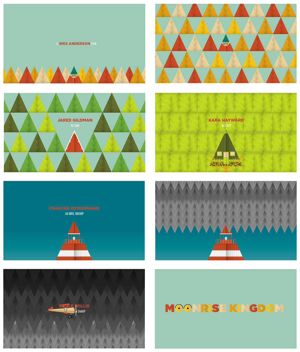 Moonrise Kingdom/ Opening Titles