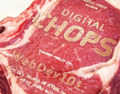 IDEO Digital Chops: Meat Poster Series