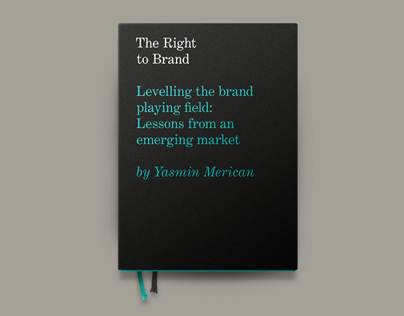 The Right to Brand – Book Design