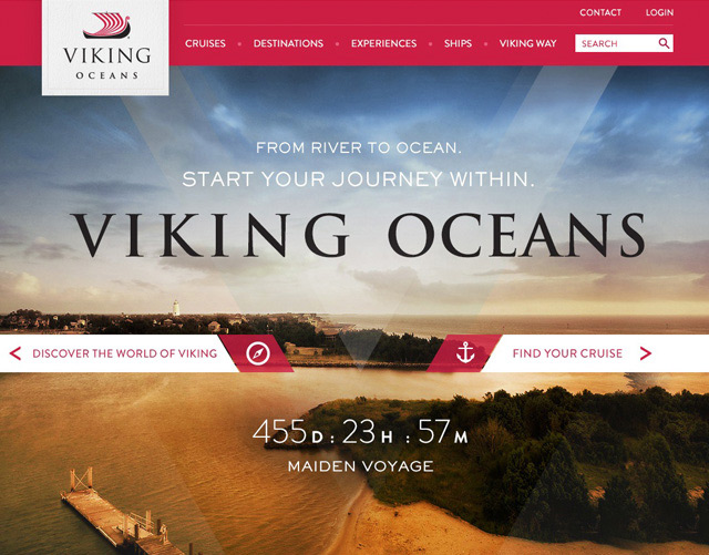 Viking Oceans Site Design