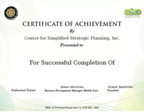 MEDEX Training Certificates