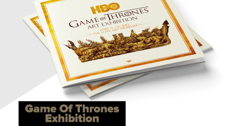 Game Of Thrones Art Exhibition, Singapore