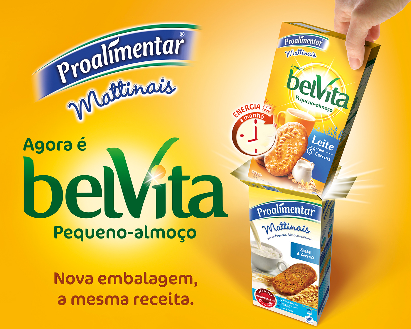 POS project for belVita rebranding