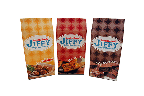 JIFFY Packaging Redesigned