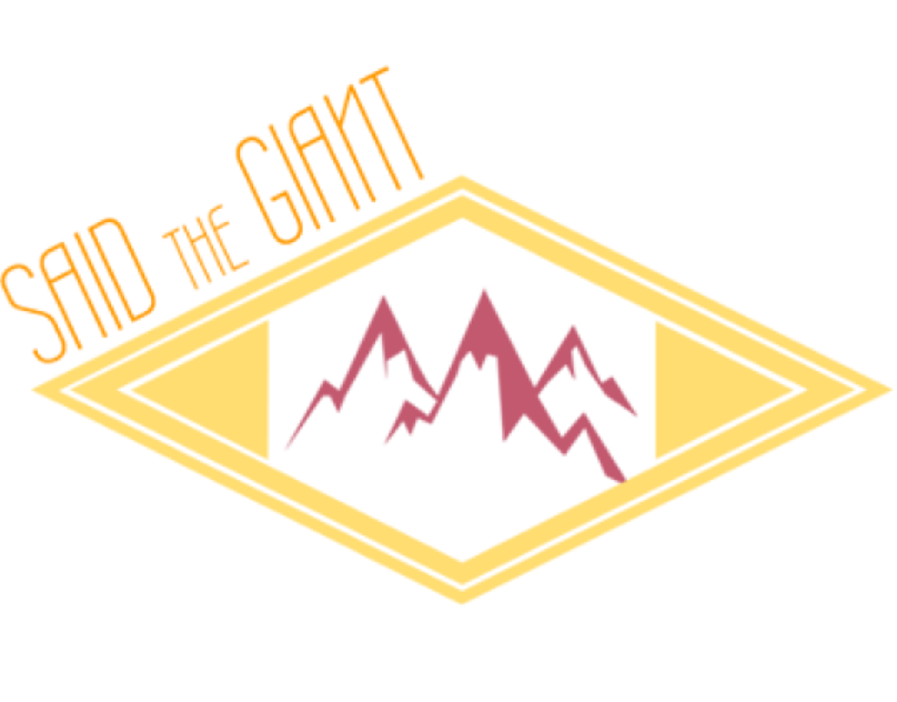 Logo Design - Said the Giant