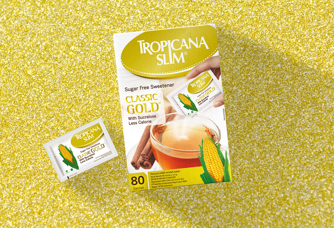 Tropicana Slim Classic Gold Sweetener