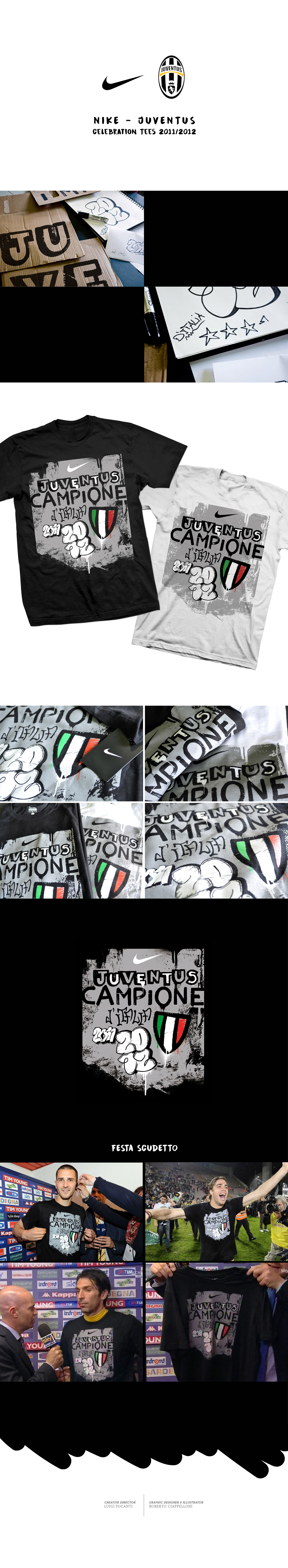 NIKE - JUVENTUS celebration tees