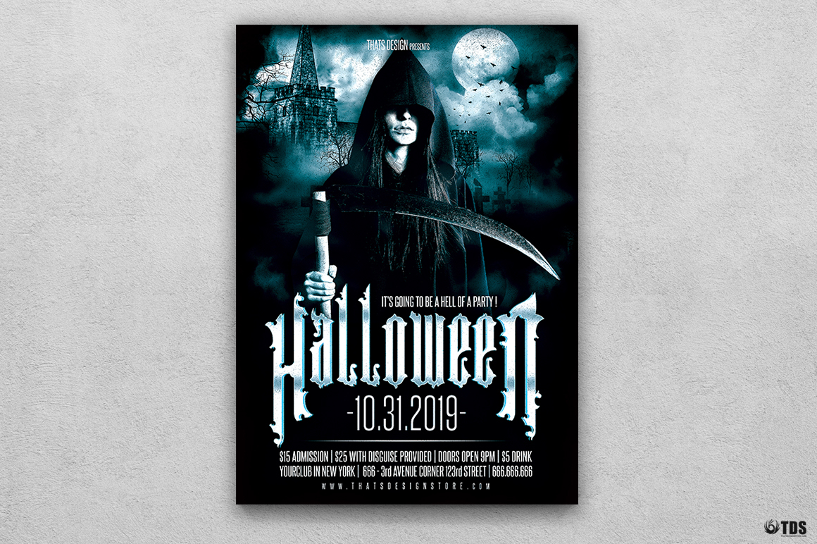 Halloween Flyer Template V8