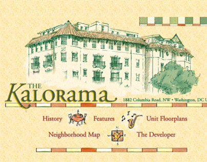 The Kalorama Real Estate Development Website