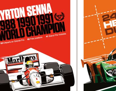 Ayrton Senna x McLaren