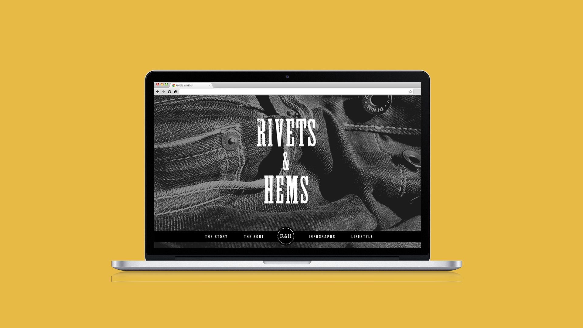 Rivets & Hems: Online Pants Collection Exhibition