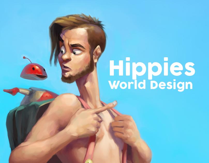 Hippie Illustrations