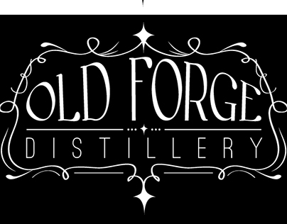 Old Forge Distillery Logo Ideas