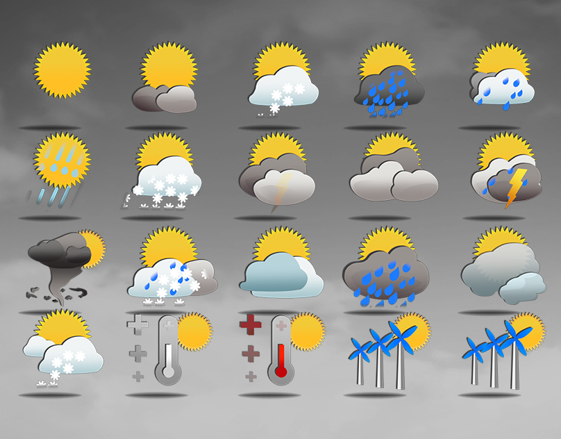 Weather - Animation Icons |  Free Download